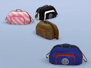 Sims 3 — Sports Bag by Cyclonesue — Change your clothes using this sports bag. A wardrobe for the trendy (with few