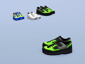 Sims 3 — Training Shoes (Large) by Cyclonesue — There is no better placeholder than a pair of smelly shoes. Keep all