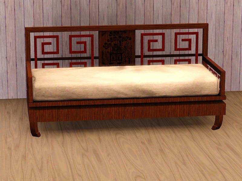 Asian Inspired Sofa 72