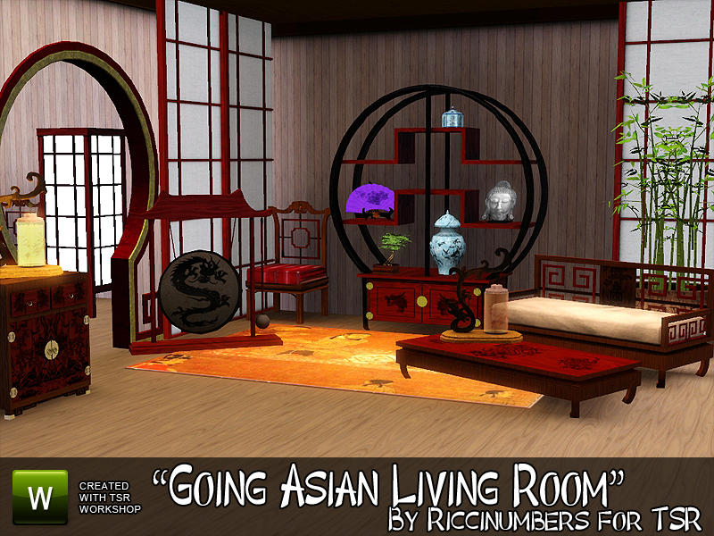 TheNumbersWoman\'s Going Asian Living Room