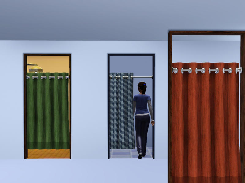Sliding Curtain Cubicle Door : cubical door - pezcame.com