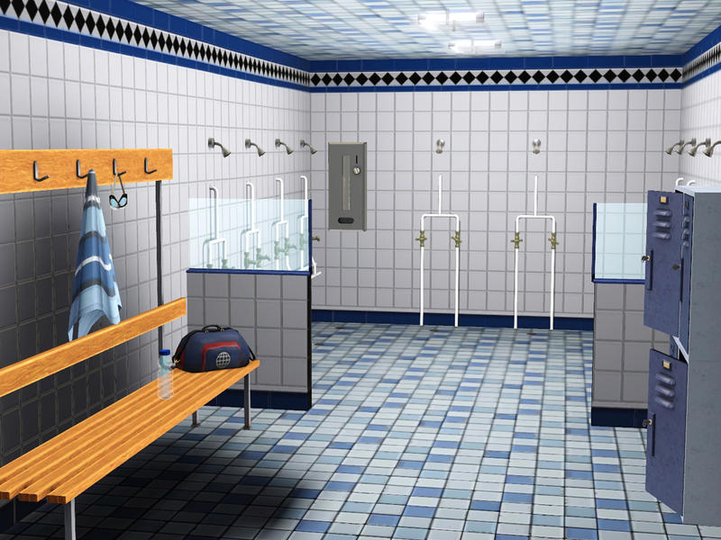 Sports Changing Room Benches