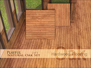 Sims 3 — Playful Natural Oak Floor [h] by Playful — An important part of any playful property is beautiful hardwood