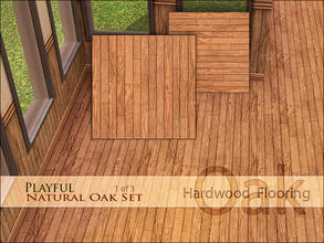 Sims 3 — Playful Natural Oak Floor [v] by Playful — An important part of any playful property is beautiful hardwood