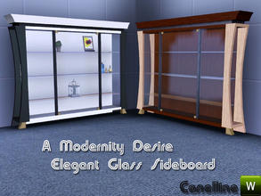 Sims 3 — A Modernity Desire. Elegant Sideboard by Canelline. by Canelline — A Modernity Desire. Elegant Sideboard by