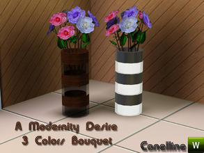 Sims 3 — A Modernity Desire. 3 Colors Flowers Bouquet by Canelline. by Canelline — A Modernity Desire. 3 Colors Flowers
