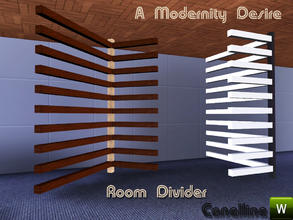 Sims 3 — A Modernity Desire. Wall Room Divider by Canelline. by Canelline — A Modernity Desire. Wall Room Divider by