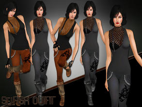 Sims 3 — Selfish Outfit by saliwa — No Description