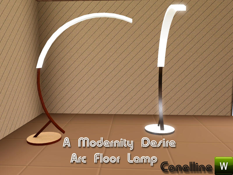 A modernity desire modern arc floor lamp by canelline modern arc floor lamp by canelline aloadofball Gallery