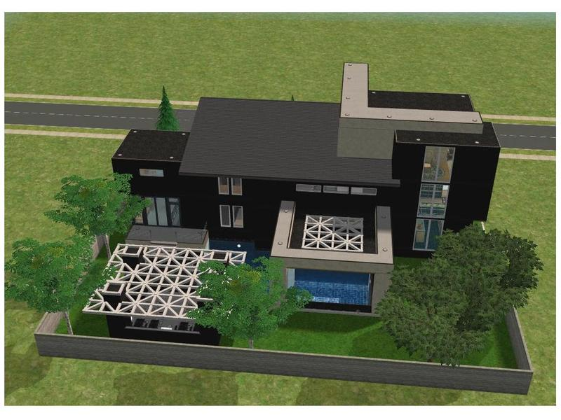 Ramborocky90 39 s small modern house for Small modern mansion