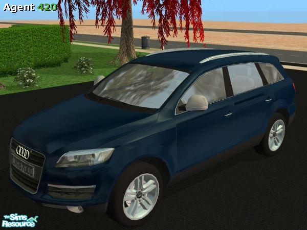 Agent420's A420 Metallic Deep Navy Blue Audi Q7