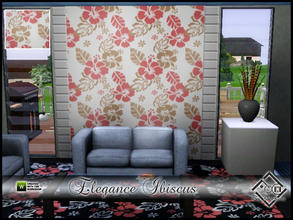 Sims 3 — Elegance Ibiscus by Devirose — By Devirose-Created with Tsr Workshop,base game compatible-Emjoy^^