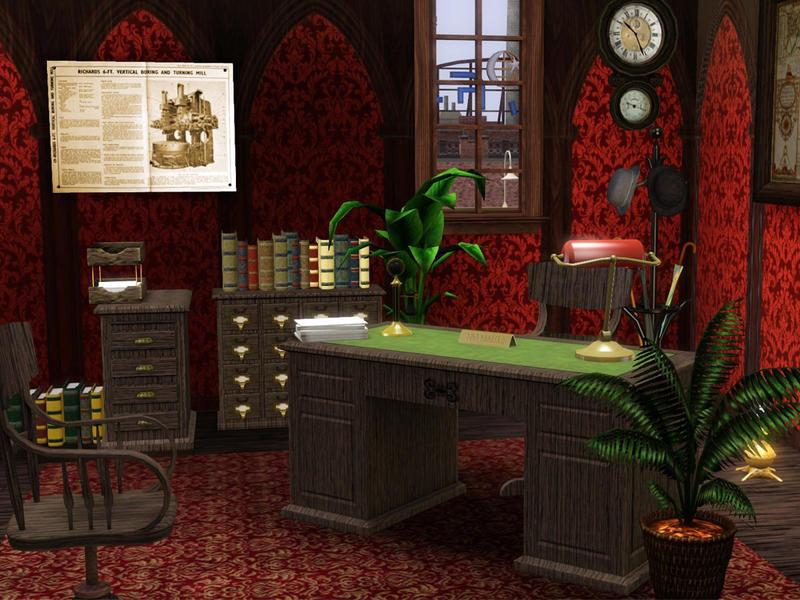 Cyclonesue's The Antique Office