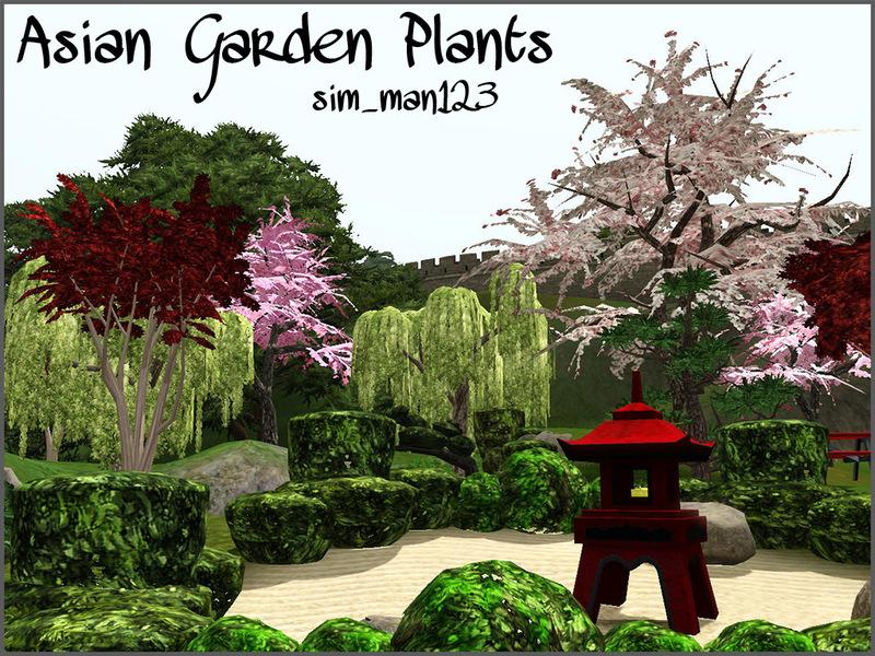 sim_man123\'s Asian Garden Plants