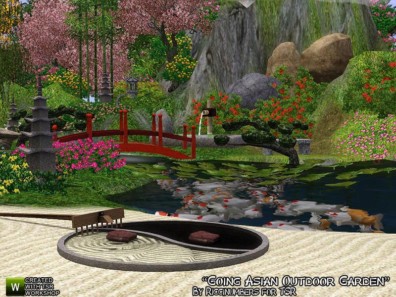 TheNumbersWoman\'s Going Asian Outdoor Garden