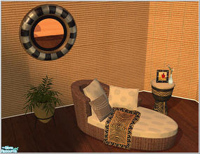 Sims 2 — Africa Style by Birgit43 — some living room items