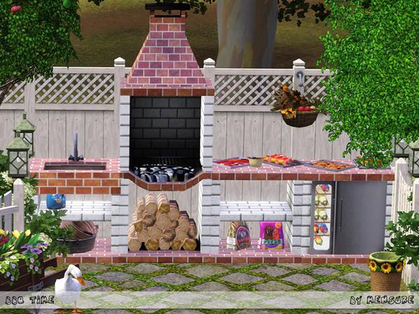 mensureu0026#39;s BBQ Time Outdoor Kitchen