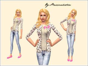 Sims 2 — She\'s Like the Wind by MAXImalistka — Everyday Female Adult Outfit. No mesh needed.