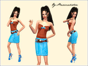 Sims 2 — Obsession by MAXImalistka — Everyday Female Adult Outfit. Enjoy!