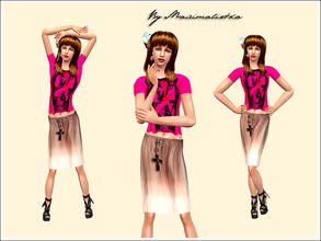 Sims 2 — Bittersweet by MAXImalistka — Adult female everyday outfit.