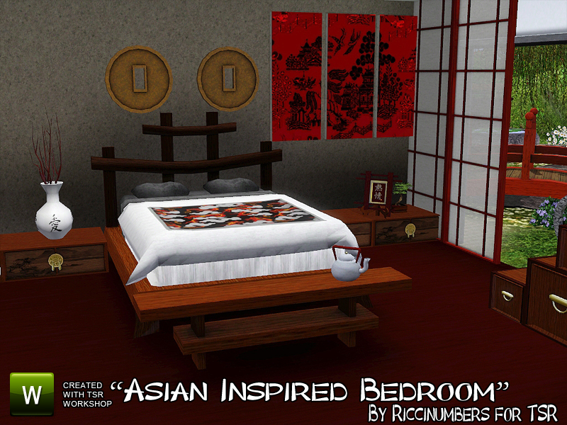 Thenumberswoman 39 s asian inspired bedroom for Asian themed bedroom