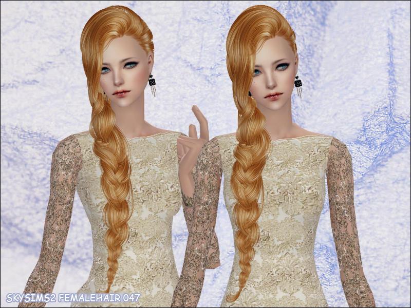 skysims hair 047