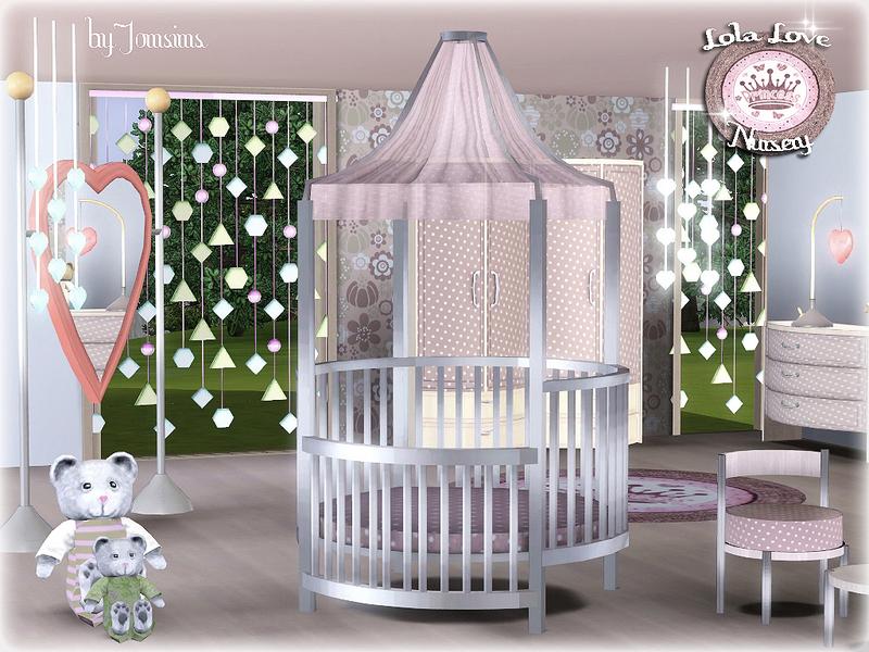 Jomsims Lola Love Bed Crib