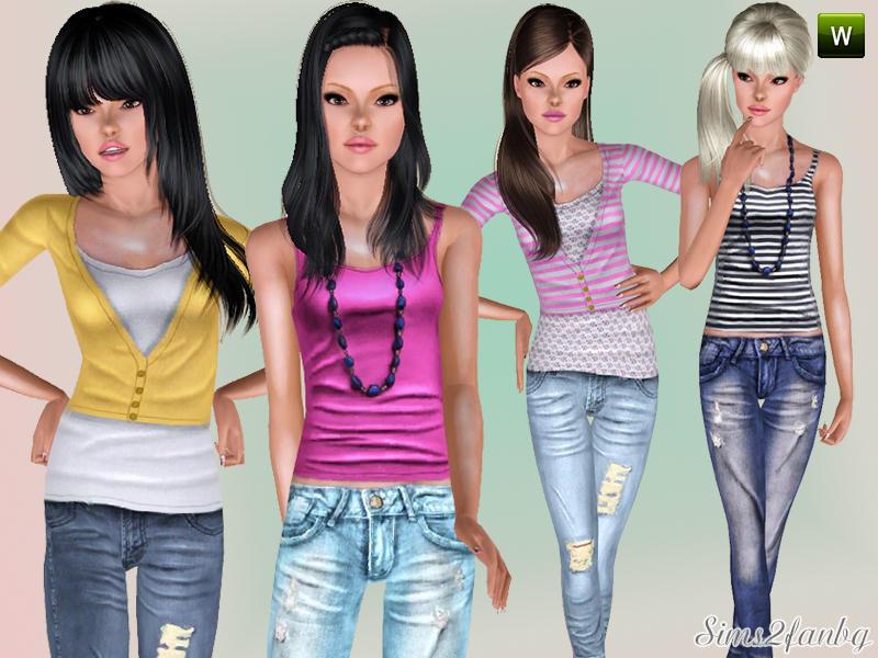 Одежда для подростков - Портал игры Симс 3. Скины и объекты. Home sims - библиотека игр The Sims - Мужская одежда для
