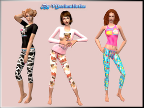 Sims 2 — MXM Funny Pajamas for Adults by MAXImalistka — Adult Female PJ\'s