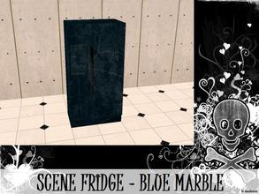 Sims 2 — Scene Fridge - Blue Marble by staceylynmay2 — Blue marble fridge. You will need my fridge mesh.