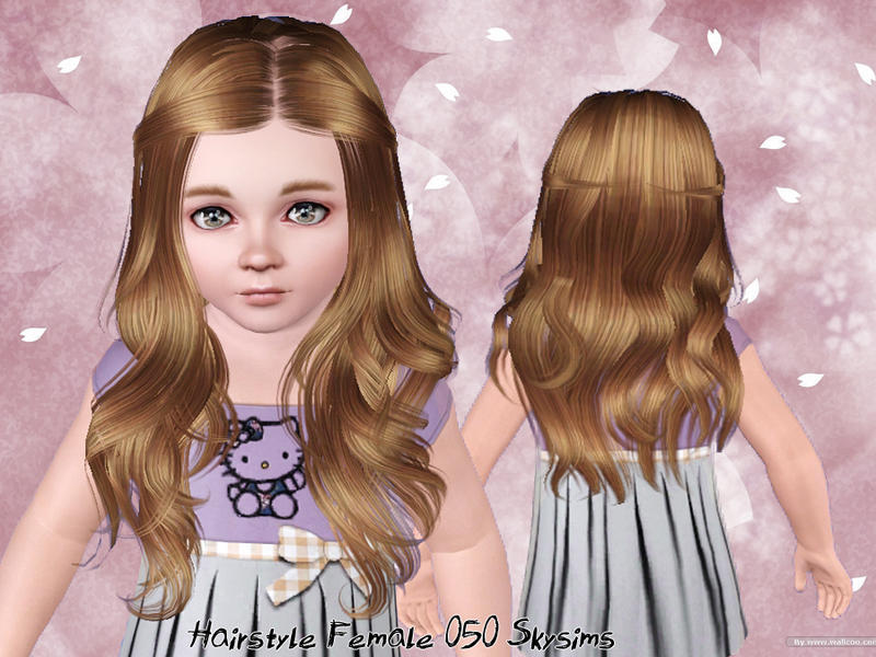 Skysims Hair Toddler 050