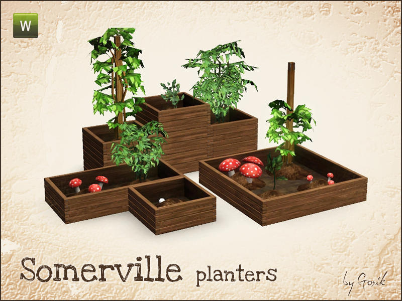 Gosik S Somerville Planters