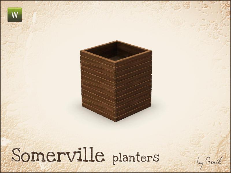 Gosik S Somerville Planters