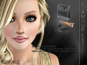 Sims 3 — L'amour est... by simseviyo — sourcils parfaits pour la recherche naturelle. beauty is not that away now....
