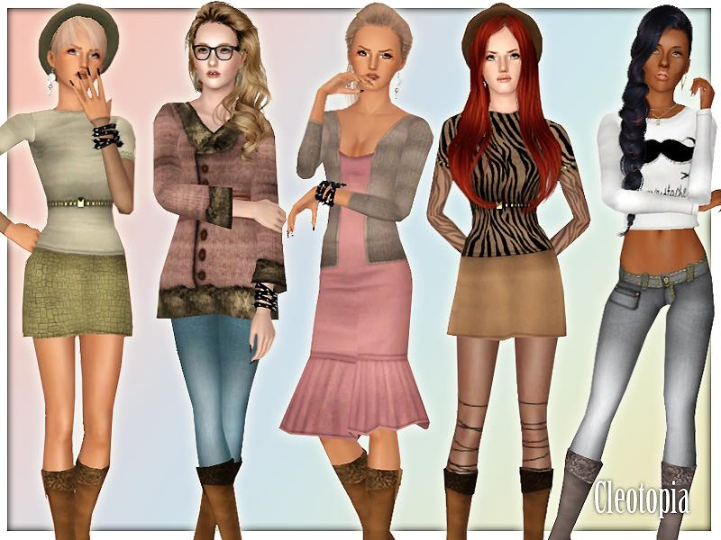 the sims 3 how to buy clothes