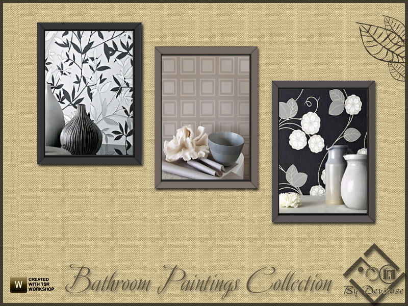 Devirose's Bathroom Paintings Collection