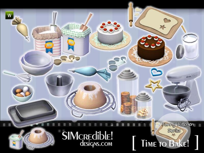 How To Bake A Cake Sims