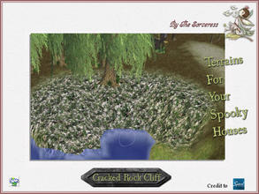 Sims 2 — JJs Cracked Rock Cliff by thesorceress — Another set of Terrainpaints to shape and landscapes your lots as you