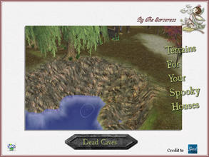 Sims 2 — JJs Dead Caves by thesorceress — Another set of Terrainpaints to shape and landscapes your lots as you like :)