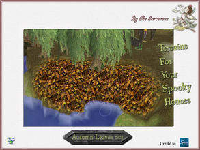 Sims 2 — JJs Autumn Leaves 001 by thesorceress — The 4th set of Terrainpaints to shape and landscapes your lots as you