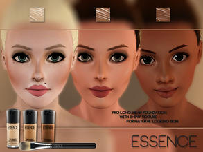 Sims 3 — Flawless Finish Foundation by simseviyo — New foundation with a very nice natural glow and perfect contouring