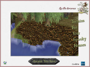 Sims 2 — JJs Ancient Tree Root by thesorceress — The, for now, last set of terrains. I hope you have loads of fun with