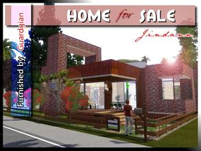 Sims 3 — Home for Sale by Jindann — Your sims will be very glad to stay here! It has 2 bedrooms, 1 bathroom, living room,