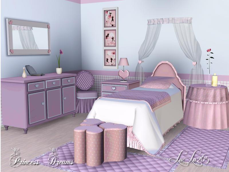 Lulu265 S Princess Dreams Bedroom