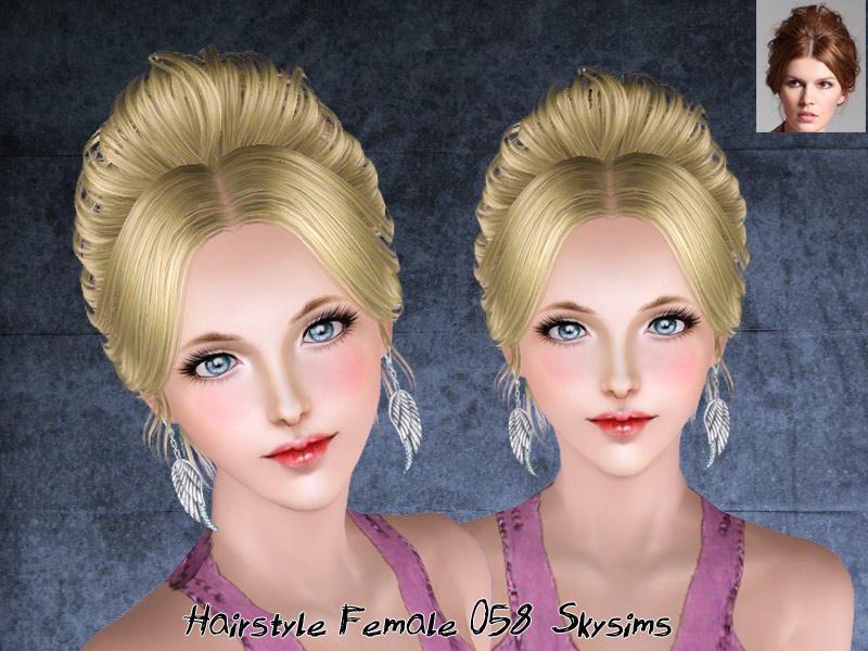 Sims 3 free hair downloads: queen bedding set.