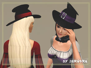 Sims 3 — Hat for Witches AF by bukovka — Hat for witches. This is not a separate accessory. Search for the following