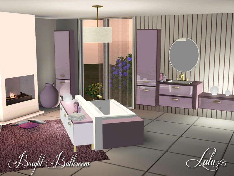 Lulu265 39 s bright bathroom for Bright bathroom sets