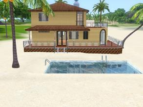 Sims 3 — Malibu Sunset 53 *Unfurnished*  by Silerna — Malibu Sunset is a lovely vacation or residental house for your