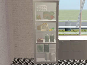 Sims 2 — Basic - Steffor-basic-fridge by steffor —