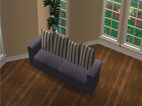 Sims 2 — MFG Holy Simoly Arizona SOFA RC - Blue Stripe - 0 by mightyfaithgirl — Recolor of Holy Simoly Arizona SOFA in